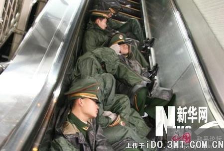 Soldiersleeping