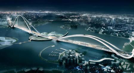 Dubai_arch_bridge